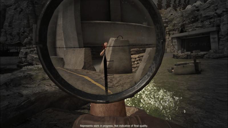 第二次世界大戦中のシチリア島からナチスのUボードの脅威を取り除くことを目指す一人称視点のスナイピングゲーム