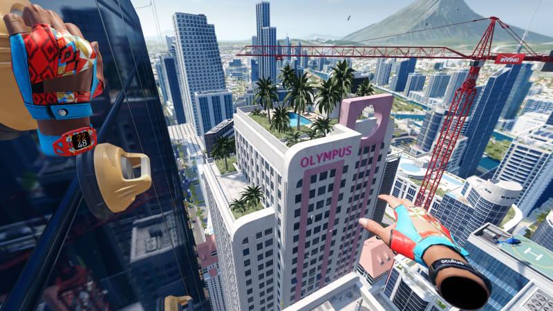 大ヒットクライミングゲームの続編。今度は高層ビルを登れるぞ