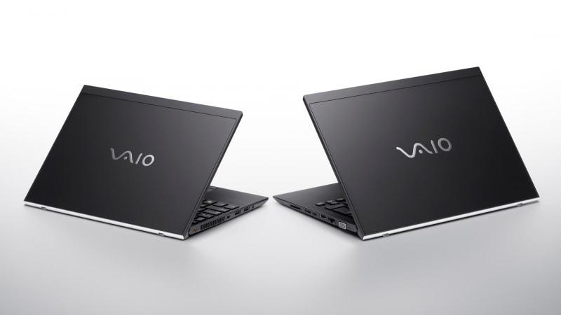 VAIO SX14(右)とSX12