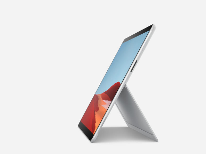 リフレッシュ版Surface Pro X、新しくプラチナの本体色が追加される