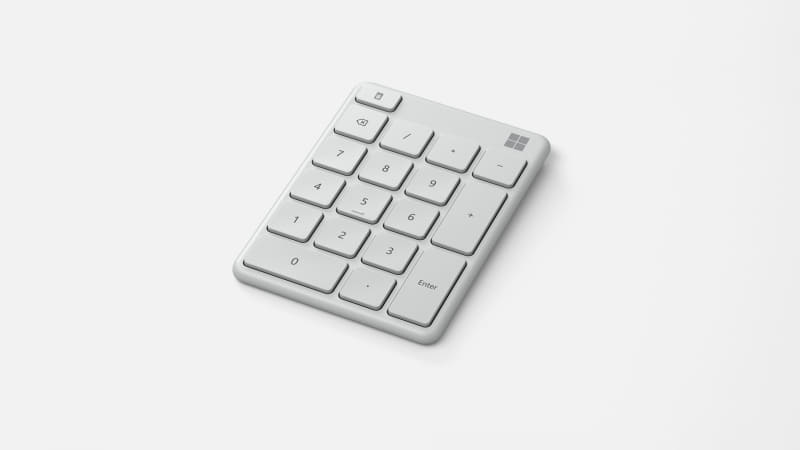 Microsoft Number Padのホワイトモデル
