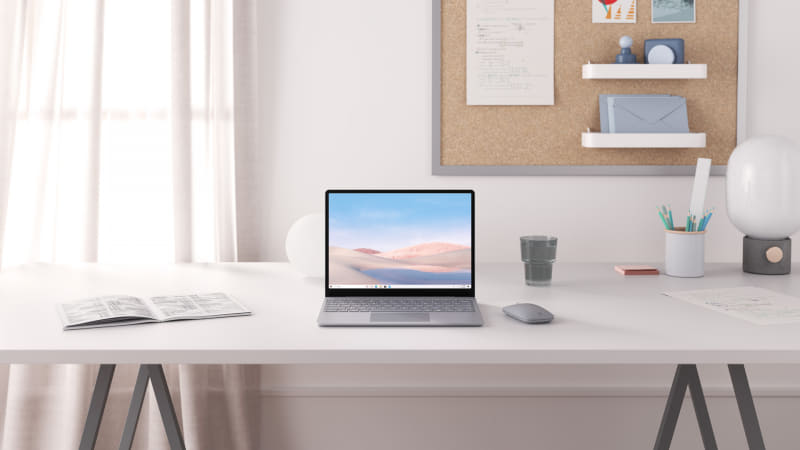 Surface Laptop Goの利用イメージ