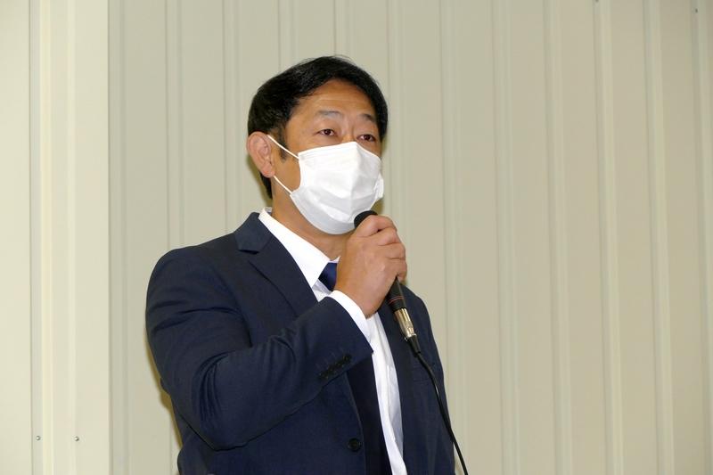 鈴与株式会社3PL事業推進室次長 會田晃司氏