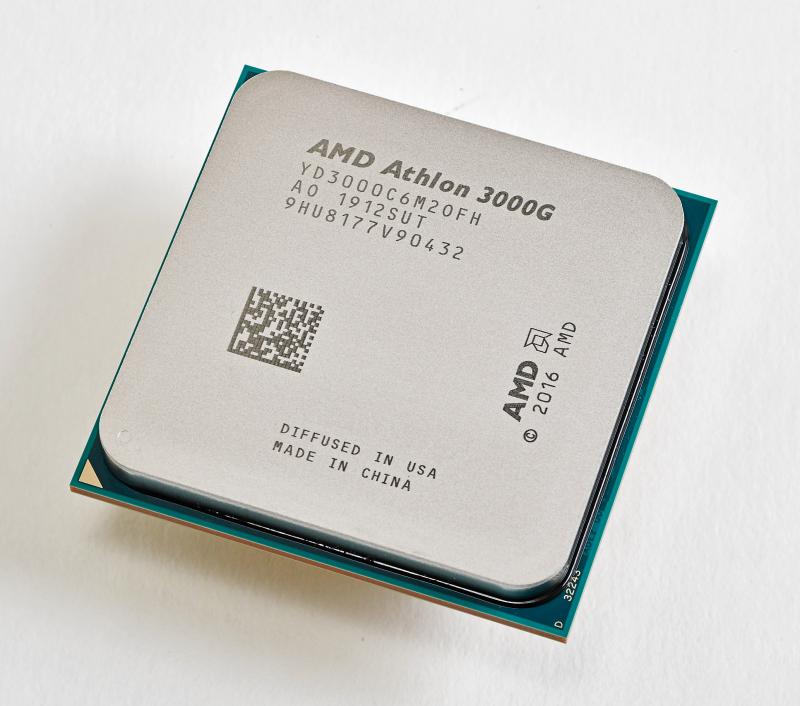 """<strong class=""""em """">Athlon 3000G</strong><br>2コア4スレッドで、内蔵GPUはコア数の少ないRadeon Vega 3とRyzen 3 3200Gよりワンランク下がる。ただ、TDPは35Wと低いので、低消費電力、低発熱PCの自作には向いている"""