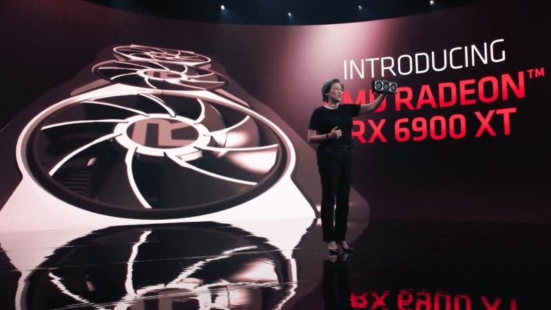 隠し玉として用意されたRadeon RX 6900 XT