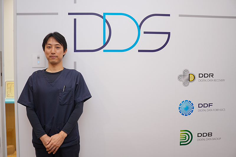 デジタルデータソリューション データリカバリー事業部エンジニアグループ責任者の井瀧義也氏