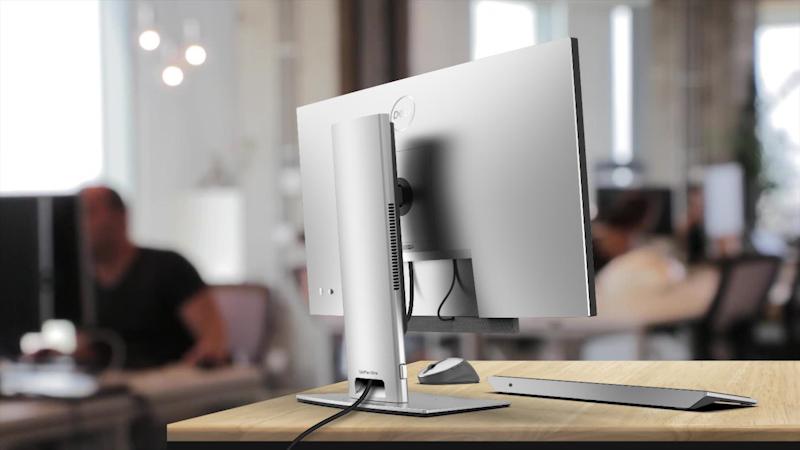 USB Type-Cケーブル1本で接続すればすっきりとした配線が可能