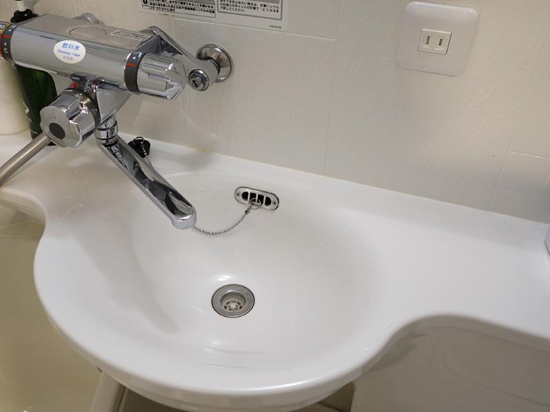 すぐ手を洗えるのが本当にありがたい