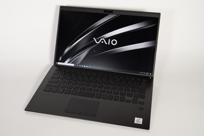 VAIO SX14のキーボード