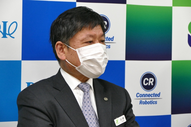 JR東日本フーズ代表取締役社長 日野正夫氏