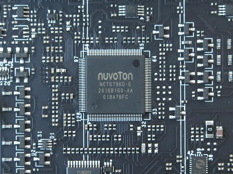 NuvotonのSuper I/Oチップ「NCT6796D-E」