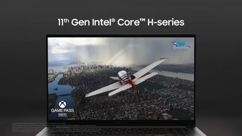 CPUに第11世代Core Hプロセッサを採用