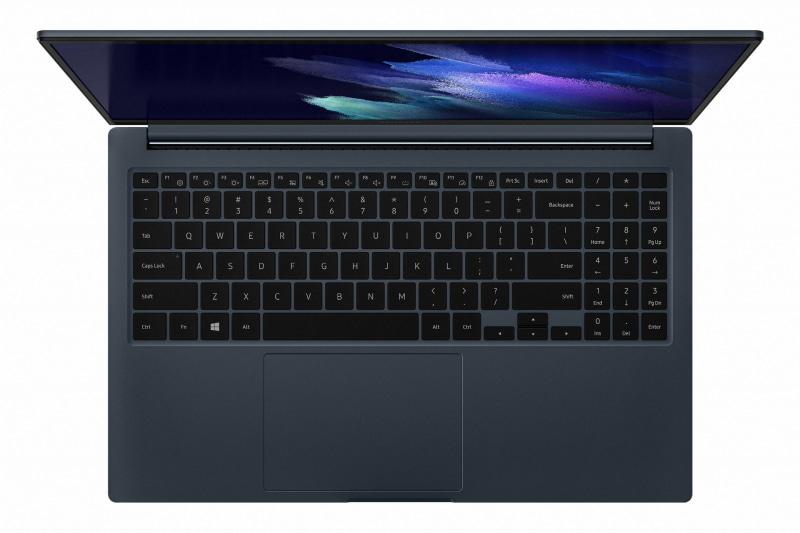 キーボードはGalaxy Book Proシリーズ同様のPro Keyboardを採用
