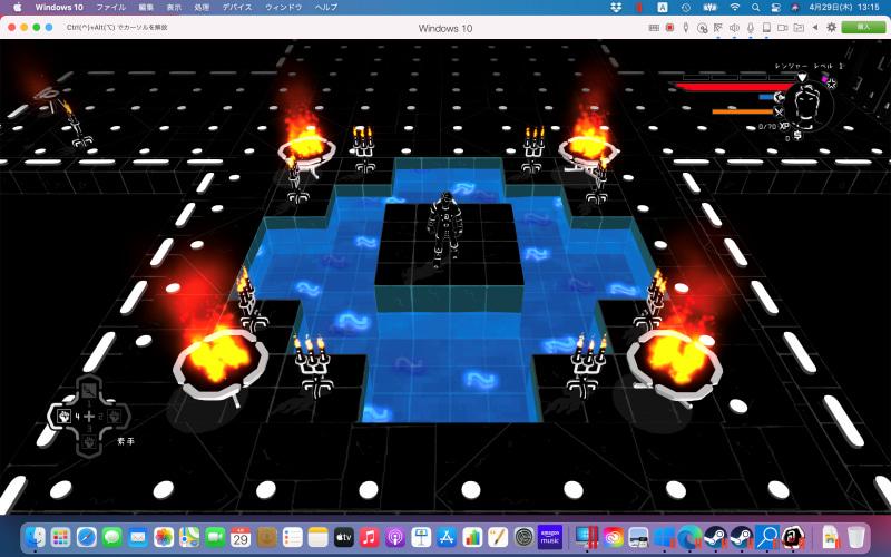 「Brut@l」は「Rogue」をモチーフにした3Dアクションゲームだ