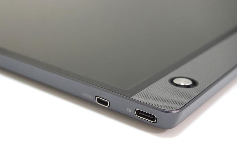 映像入力端子はUSB Type-CとMicro HDMIの2系統