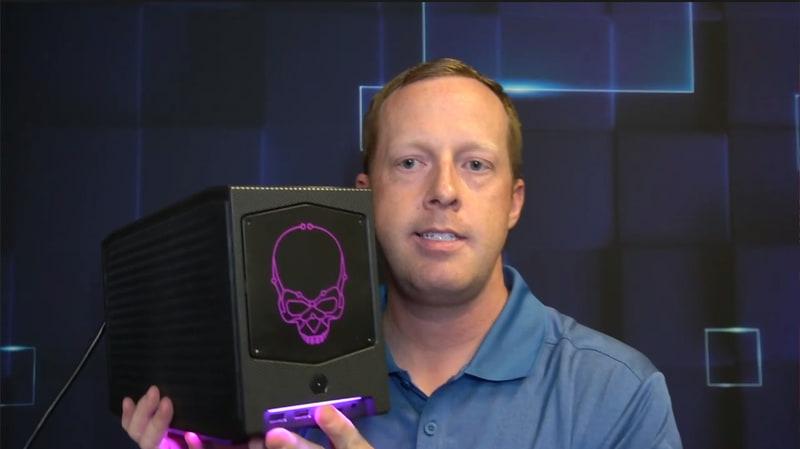 Intelの第11世代Core H45を搭載した「Intel NUC11 Extreme Kit」(開発コードネーム:Beast Canyon)、フルサイズのビデオカードを内蔵できる小型PCとなる