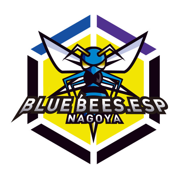 BLUE BEESのロゴ
