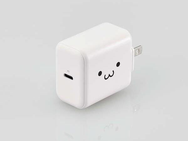 ホワイトフェイスモデルの充電器