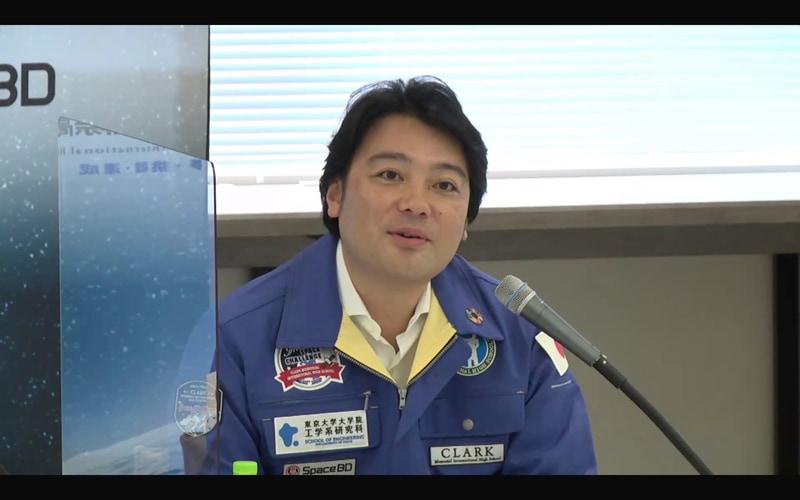 Space BD株式会社 代表取締役社長の永崎将利氏
