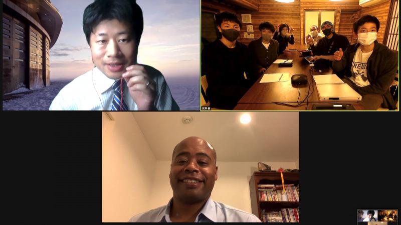 NASAのガービー氏や宇宙飛行士の山崎直子氏からアドバイスを受ける