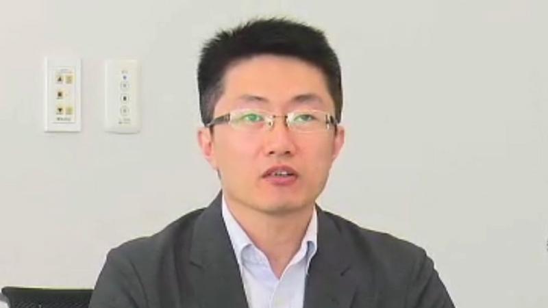 同社コマーシャル事業部 企画本部 製品企画部 プロダクトマネージャー 賈新氏