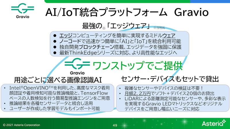 ノーコードでエッジコンピューティングが実現できるGravio