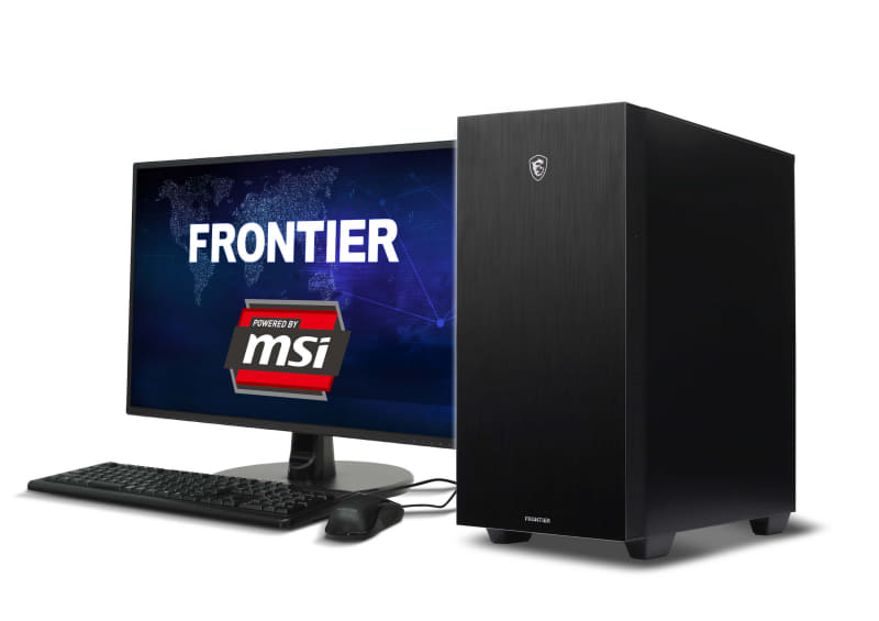 FRONTIER Powered by MSI ゲーミングPC