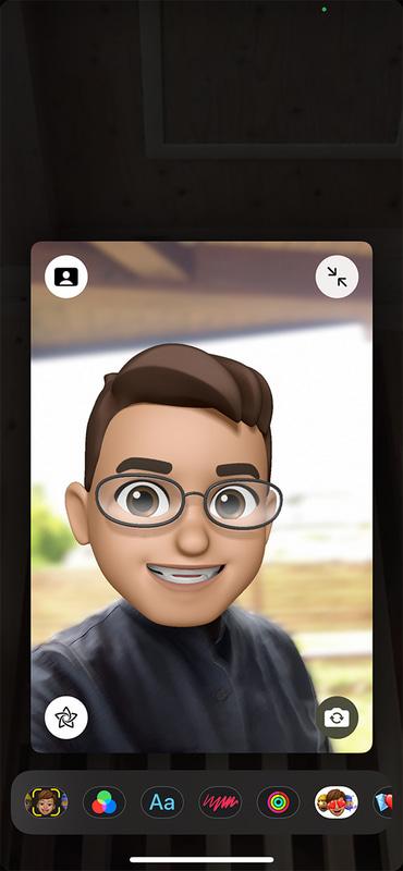 FaceTimeのポートレート機能を使えば、背景を自然にぼかせます。自宅でのビデオ会議に重宝しそうです