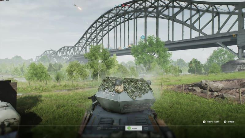 死んでしまうと、画面右下に復帰を促すボタンが表示されつつ、画面上は他のプレーヤーのプレイ状況が表示される