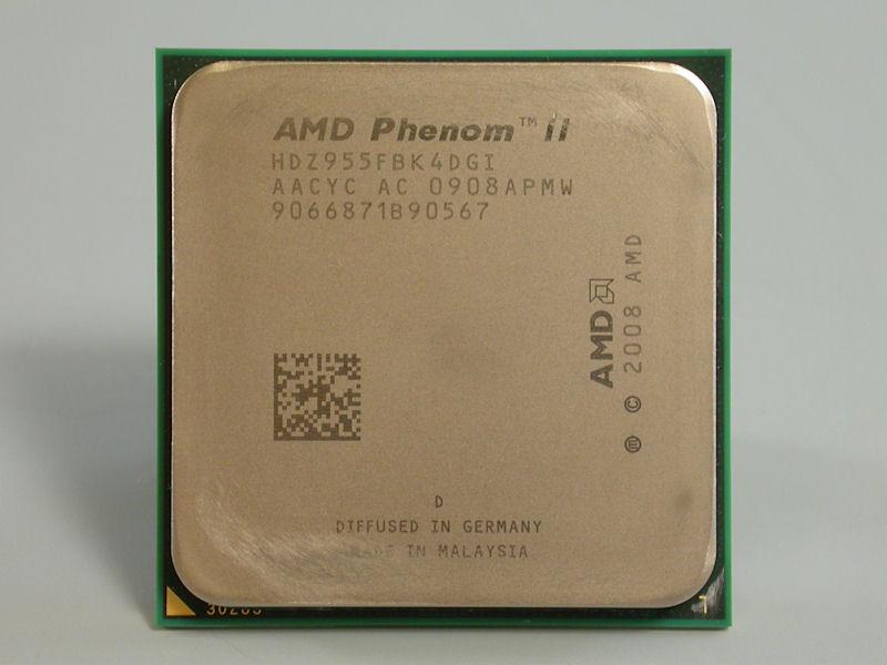 【写真1】Phenom II X4 955 Black Edition