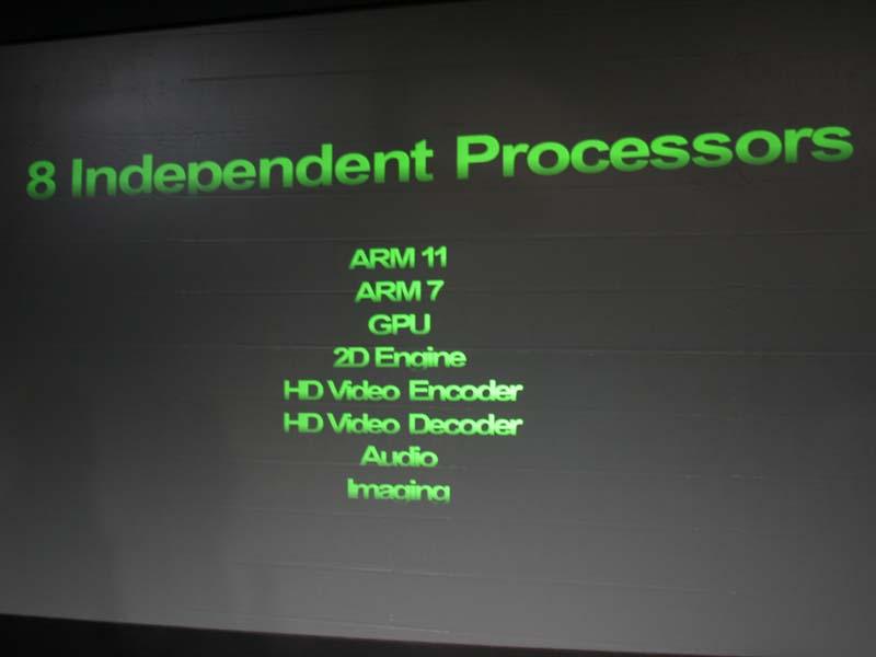 Tegraには8つのプロセッサが内蔵されており、必要な時だけ必要なプロセッサの電源をオンにする