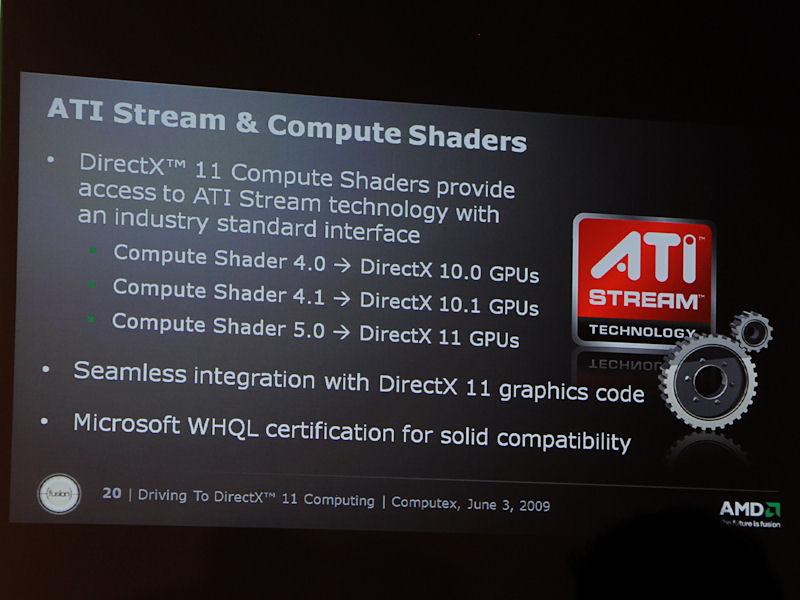DirectXとCompute Shaderモデルの関係。DirectX 11では標準機能としてGPGPU機能がサポートされる