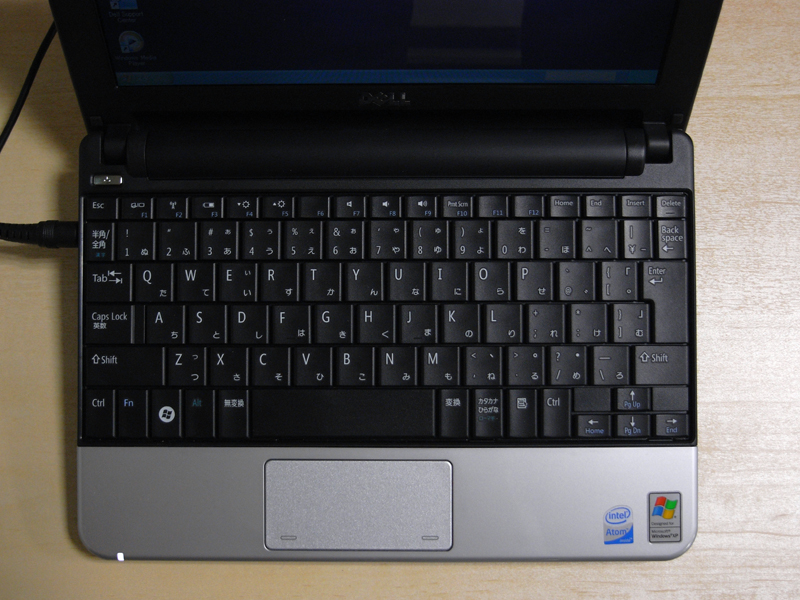 Mini 9からキーボードが大型化され快適になった