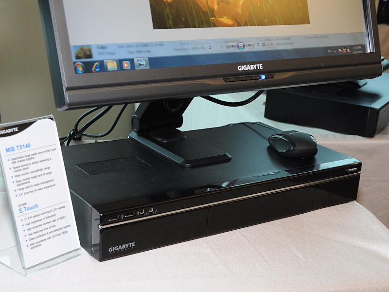 こちらは一回り大きい「MIB T5140」。フロントパネル内に5インチベイを備えるのが特徴