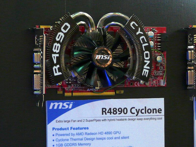Cyclone搭載のRadeon HD 4890