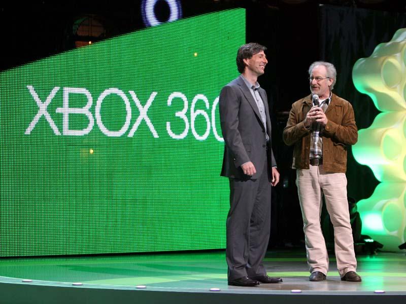 E3のMicrosoftカンファレンスにスティーブン・スピルバーグ氏を招いた