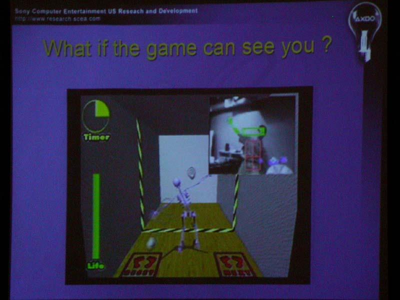 GDC 2004の「PS9」というセッションで示されたSCEのモーショントラッキング技術