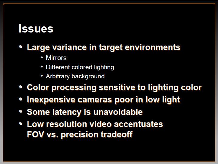 2Dカメラでのモーションキャプチャの壁