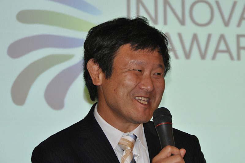 マイクロソフト最高技術責任者の加治佐俊一氏