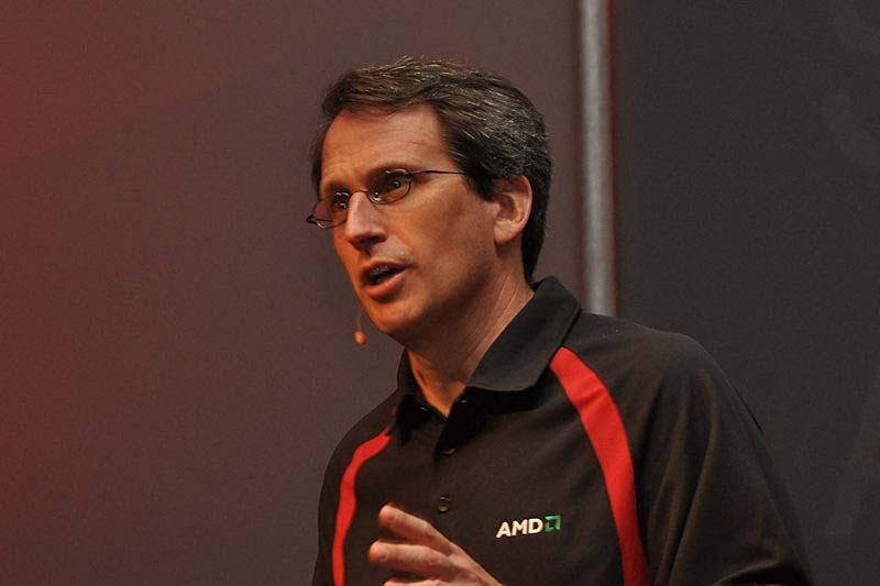 AMD Products Group Senior Vice PresidentのRick Bergman氏