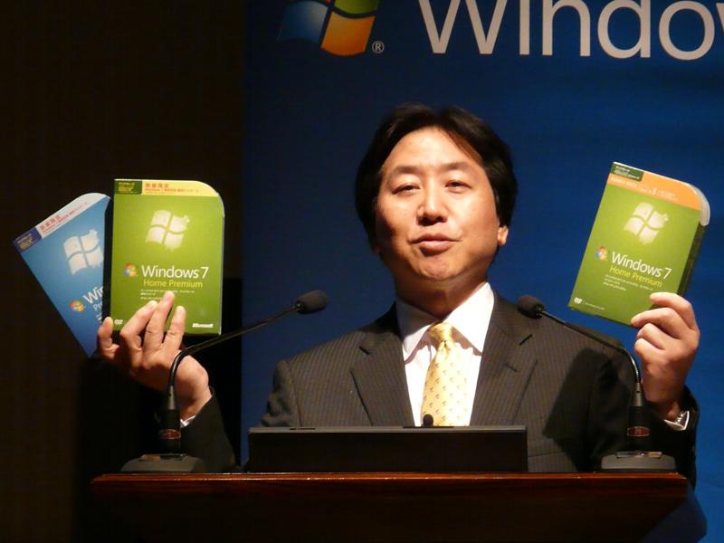 マイクロソフトの代表執行役 副社長 コンシューマー&オンライン事業部担当の堂山昌司氏