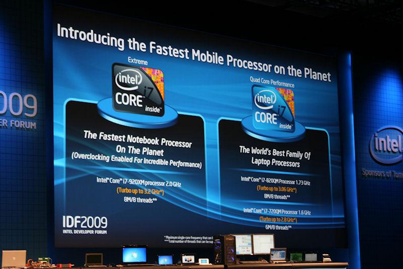 今回発表された3つのCore i7のSKU