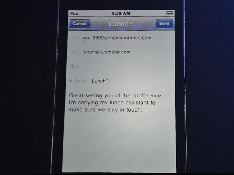 WebにアクセスすることなくEmailだけで利用することもできる