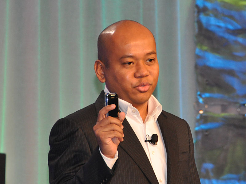 Rseven Mobile CEOのHisyam Halim氏