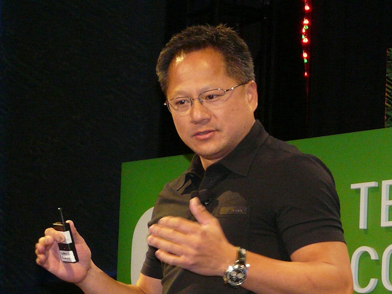 NVIDIAのジェンスン・フアン氏