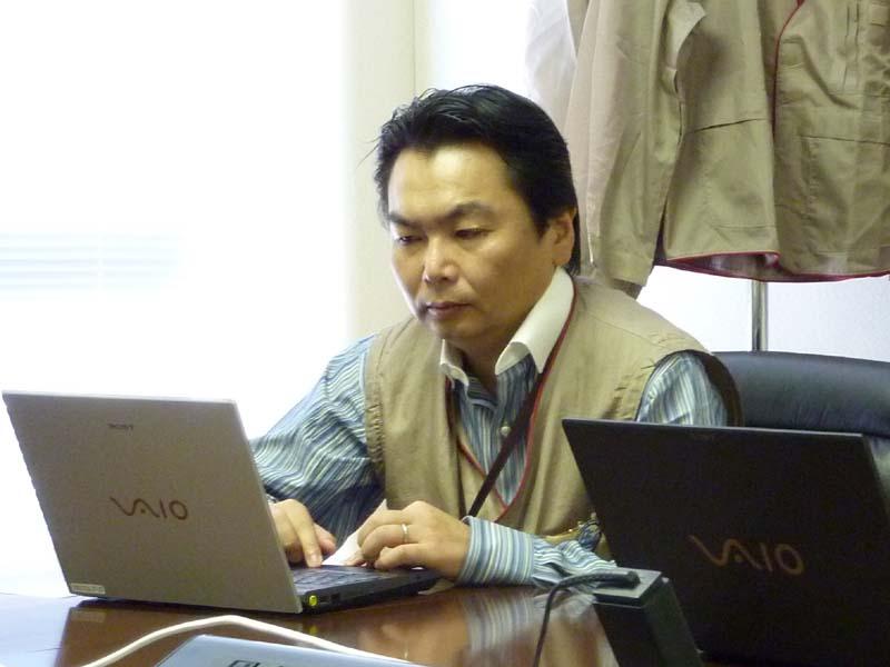 ソニーイーエムシーエス株式会社 長野テック VAIO設計センター VAIO設計部 ソフト3課統括課長(ソフト) 市川 英志氏