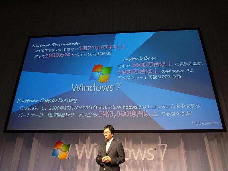 Windows 7の期待値と経済効果