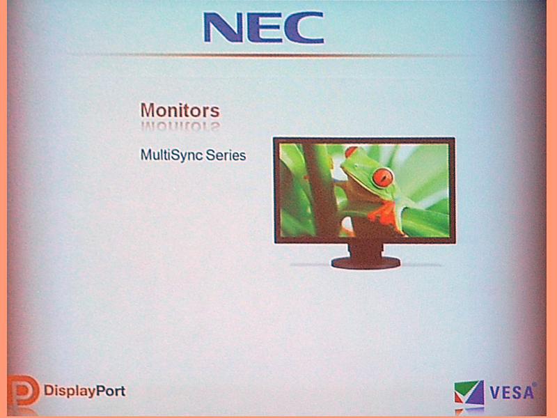 NECディスプレイソリューションズのDisplayPort対応液晶