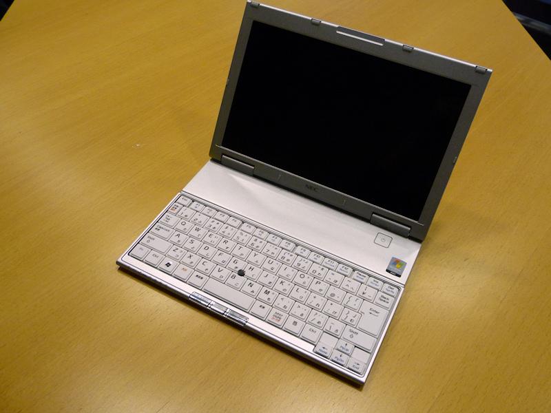 NEC「VersaPro UltraLite タイプVS」