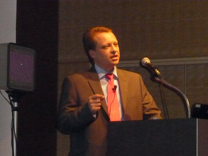 英ARMでプロセッサ部門のマーケティング担当副社長をつとめるEric Schorn(エリック・ショーン)氏